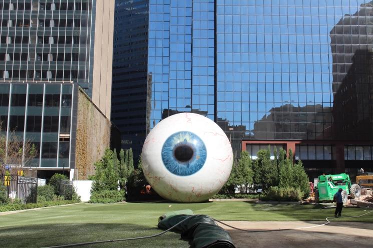 Some weird eye we found