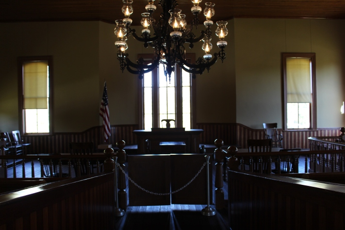 Inside 1874 Courthouse