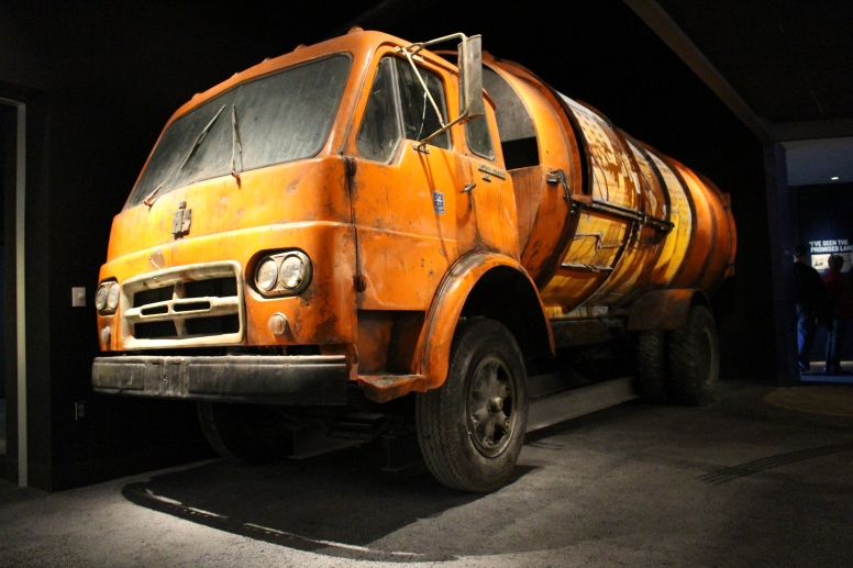 The garbage truck that brought Dr. King to Memphis. (he attended to speak regarding Sanitation workers strike)