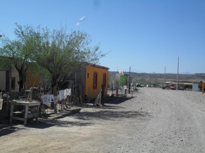 Boquillas del Carmen. Main Street I guess