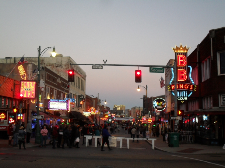 The above three photos are Beale Street, where the Blues were Born