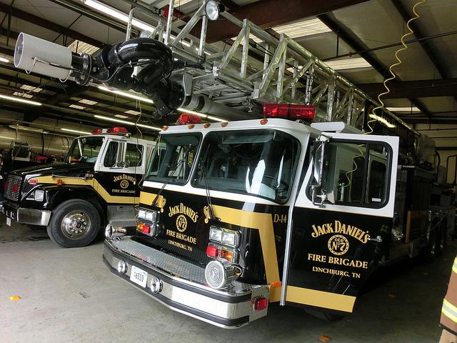 The current Jack Daniels Fire Brigade