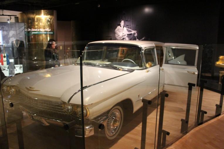 Elvis Presley's 24 Carat Gold plated limosine