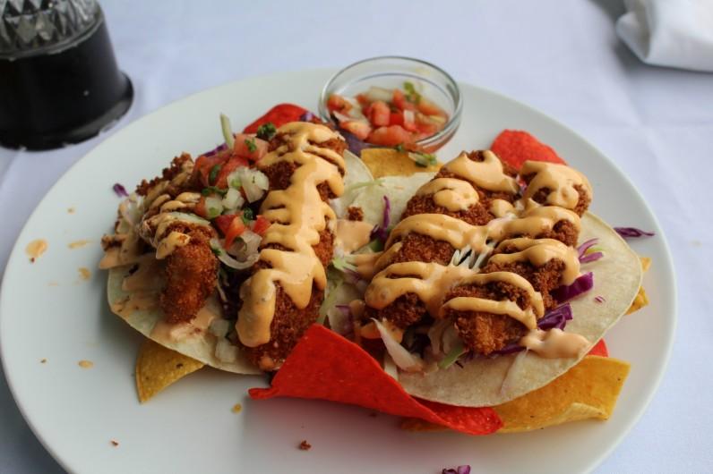Mahi Mahi fish tacos- delicious