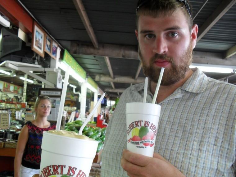 Fresh Key Lime Milkshake was very refreshing