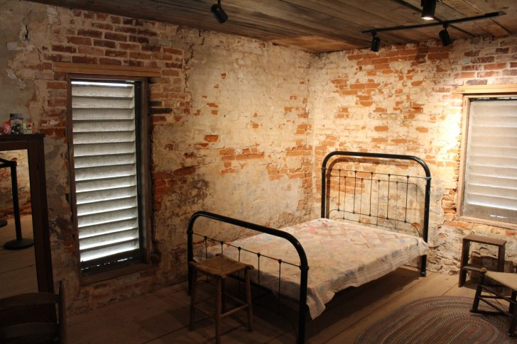 Inside Slave Quarters
