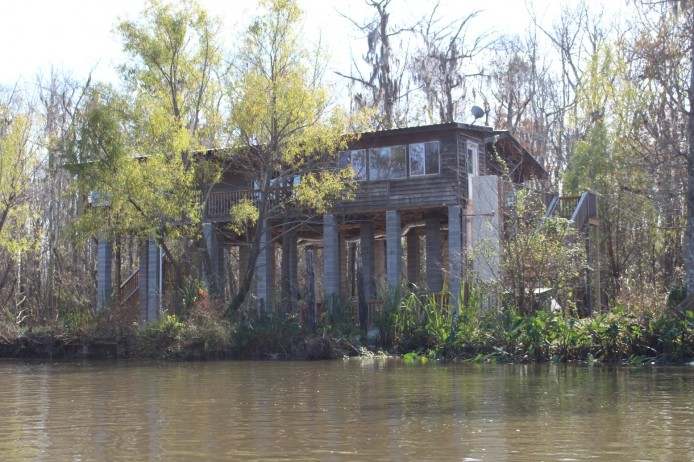 If a Katrina sized Hurricane hits again, this house will still be under water. This house was constructed post Katrina