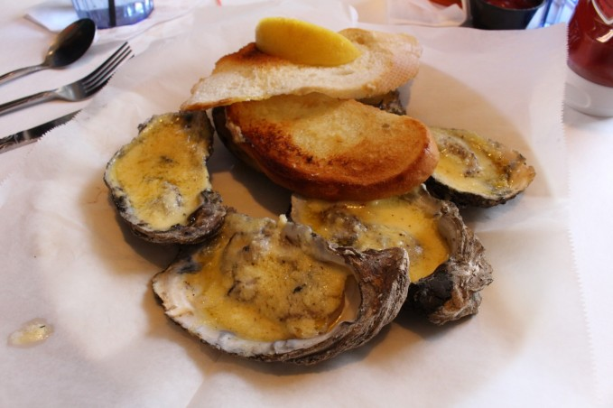 Charbroiled Oysters. (its lunch time if you have not figured that out yet)