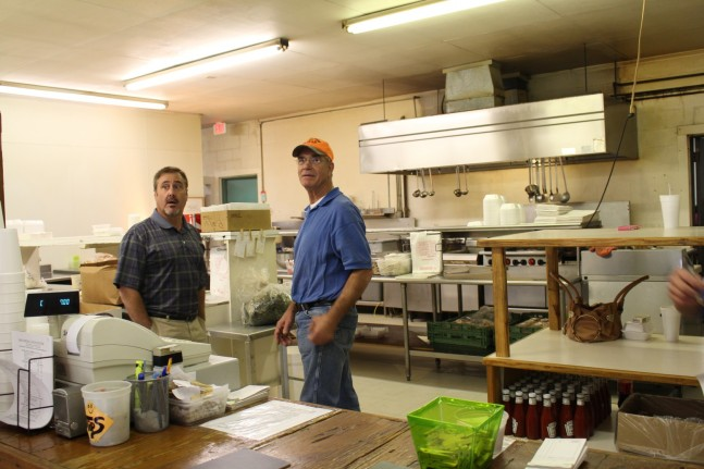 George and Bon Creole Owner.