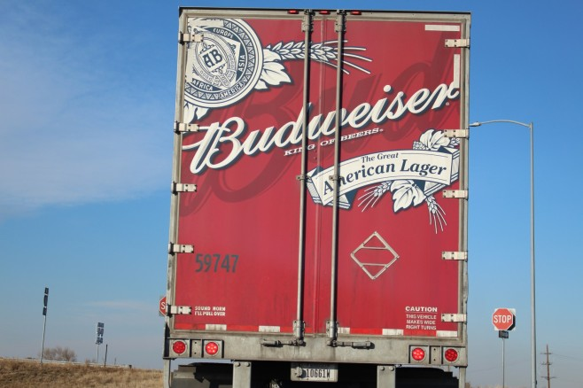 Wait, they make Budweiser in Colorado as well? Well we should stop and investigate