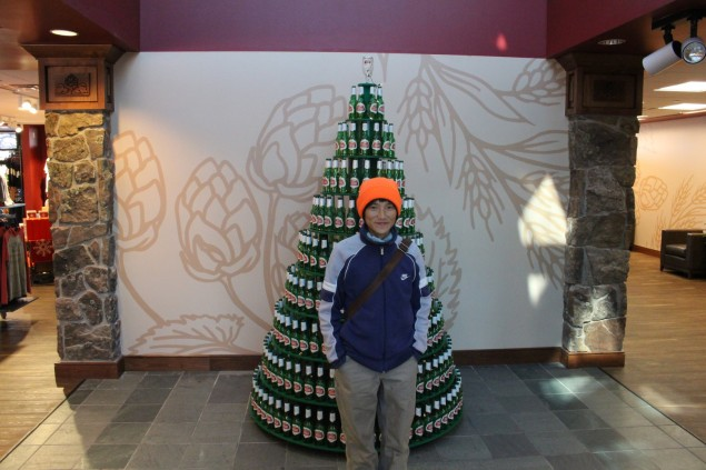 Nice Christmas Tree at Budweiser