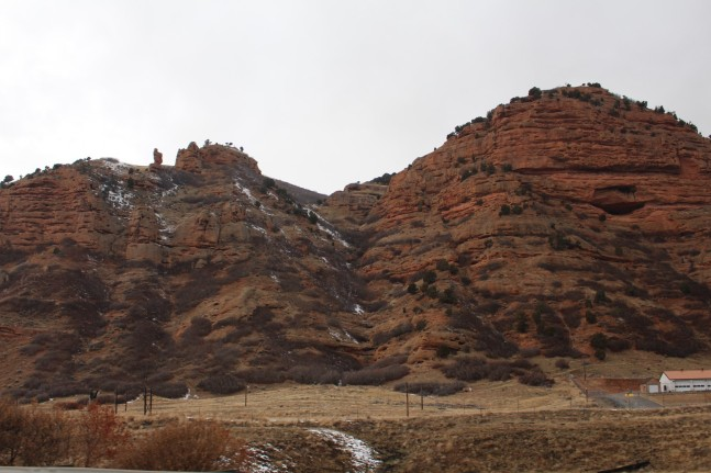 We are getting close to Utah, the landscape is changing