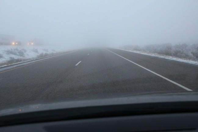 ohhh and fog