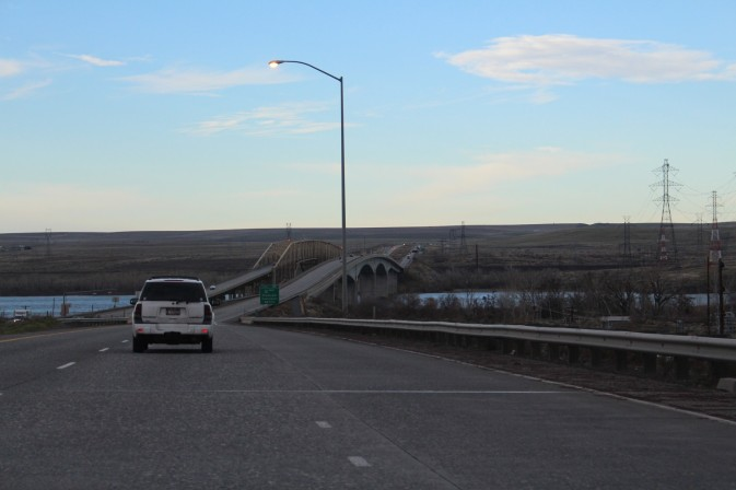 Across that Bridge is Washington State!