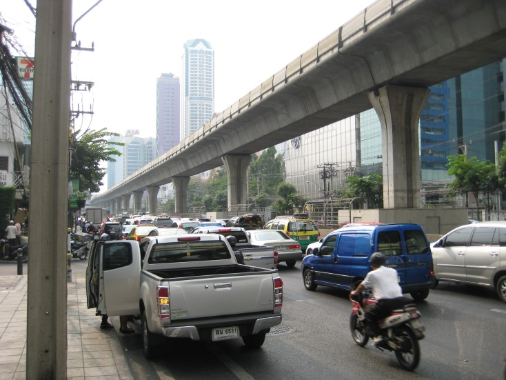 Bangkok Traffic is extreme