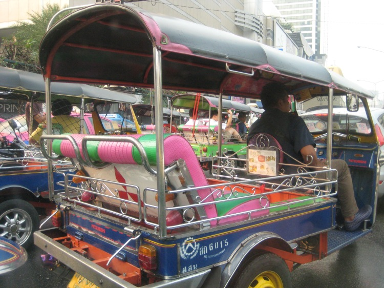 The famous Thailand Tuk Tuk