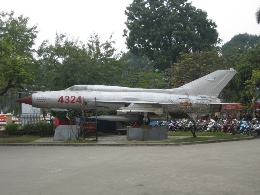 Soviet built North Vietnamese Army Mig