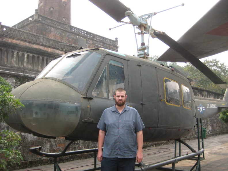 This Huey was captured when Sai Gon fell in 1975