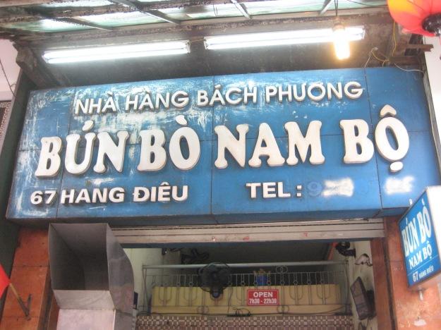 Bun Bo Nam Bo time!