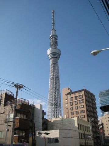 Tokyo Skytree ( 634 Metres)