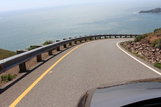 Very steep roads....