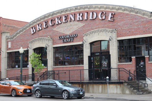 We hit the Jackpot with this place, Breckenridge Brewery and Pub