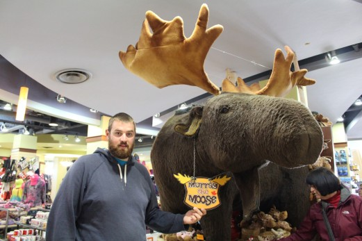 We also found Murray the Moose!