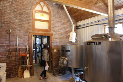 Quick tour: The Mash Tun and Kettle is in the old Sunday School Room.
