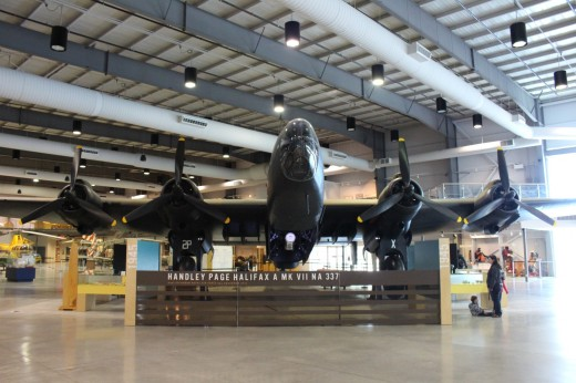 the last remaining Halifax bomber