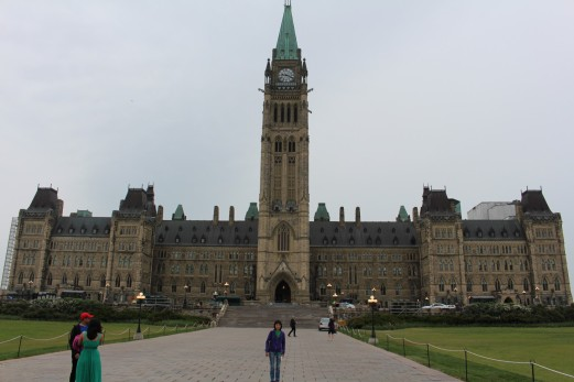 First stop Parliament Hill
