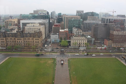 View of Ottawa, from the Peace Tower