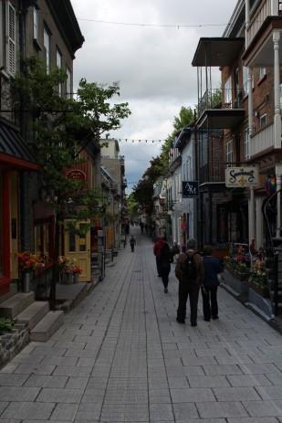 Rue Petit Champlain.