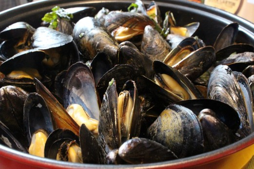 And Prince Edward Island Mussels.