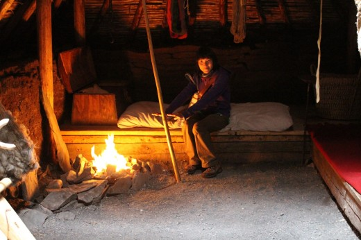 warming up inside