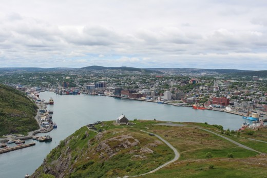 View of St. John's from Signal Hill
