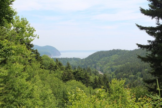 View of the Bay of Fundy