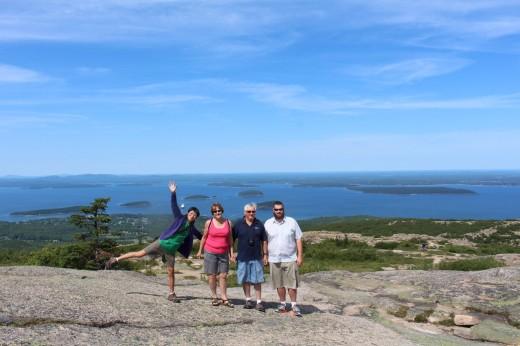 We met up with Tyler's parents in Maine