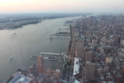 Hudson River- Manhattan