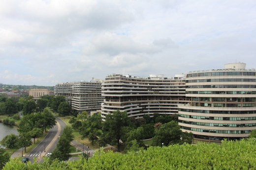 The famous Watergate buildings