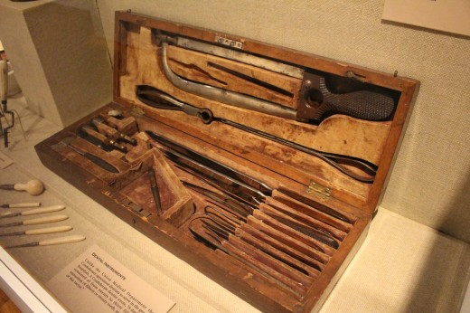 Doctors tool chest.