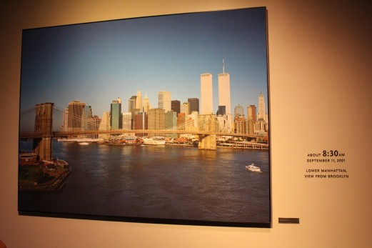 This picture was taken minutes before the attacks on 9/11