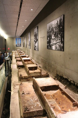 Box foundation's of one of the twin towers