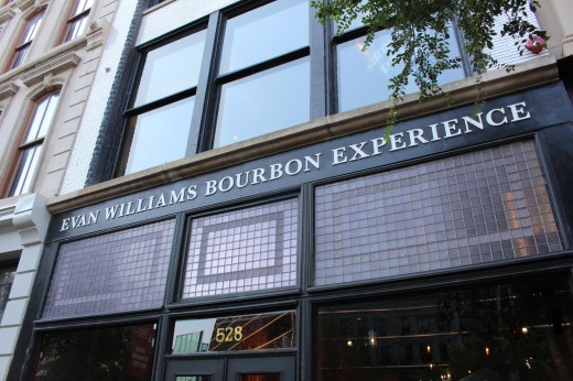 Evan Williams Bourbon experience was only a storefront